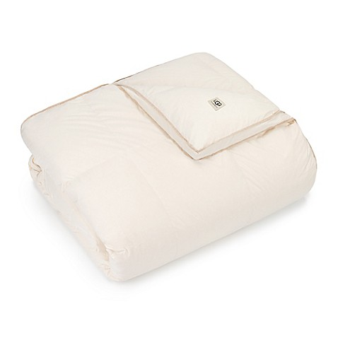 image of UGG® All Natural White Goose Down Comforter