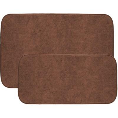 2pack the original shoe drying mat in brown