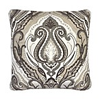 Jordana Metallic Chain Stitch Throw Pillow