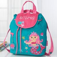 Mermaid Embroidered Kids Backpack