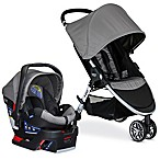 Britax B-Agile/B-Safe 35 Travel System Stroller in Steel