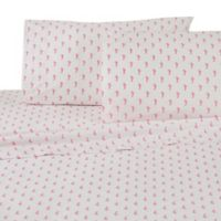Southern Tide Seahorses Standard Pillowcases in White/Pink (Set of 2)