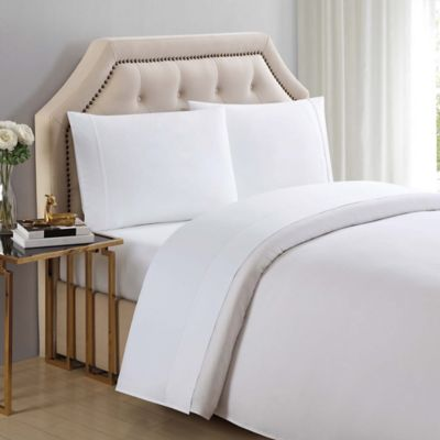 Charisma® Solid 510 Thread Count California King Sheet Set In Bright White