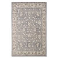 Nottingham Home Vintage Mixed Floral 5-Foot x 7-Foot 7-Inch Area Rug in Dark Grey