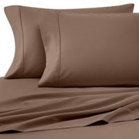 Heartland® HomeGrown™ 400-Thread-Count King Pillowcases in Light Brown (Set of 2)