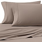 Heartland® HomeGrown™ 400-Thread-Count Solid Sateen Queen Sheet Set in Taupe