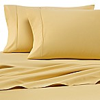 Heartland® HomeGrown™ 400-Thread-Count Solid Sateen King Sheet Set in Yellow