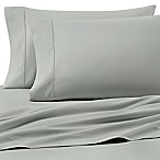 Heartland® HomeGrown™ 400-Thread-Count Solid Sateen Queen Sheet Set in Mint