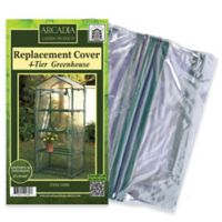 Arcadia Garden Products 4-Tier Mini Greenhouse Replacement Cover