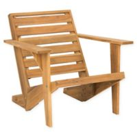 Safavieh Lanty Adirondack Chair in Teak