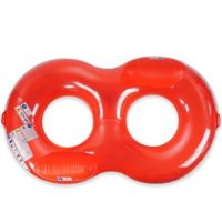 Pool Central Duo Circular Pool Lounger Float in Red
