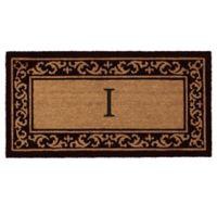 "Home & More Kendall Monogram Letter ""I"" 24-Inch x 48-Inch Door Mat"