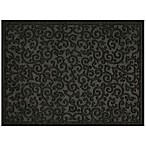 Mohawk Home Impressions Scroll 24-Inch x 36-Inch Utility Mat in Charcoal