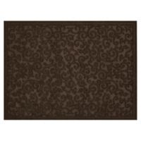 Mohawk Home Impressions Scroll 36-Inch x 48-Inch Utility Mat in Brown