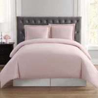 Truly Soft Everyday King Duvet Cover Set in Blush