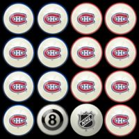 NHL Montreal Canadiens Home vs. Away Billiard Ball Set