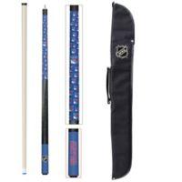 NHL New York Rangers Billiard Cue Stick and Case Set