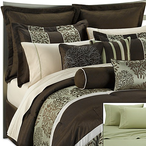 Dana 20 piece comforter set bed bath beyond - Bed bath and beyond bedroom furniture ...