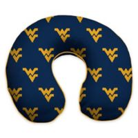 West Virginia University Memory Foam Neck Pillow
