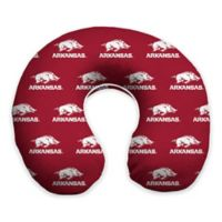 University of Arkansas Memory Foam Neck Pillow