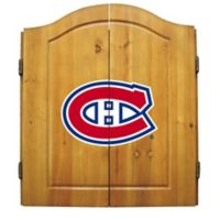 NHL Montreal Canadiens Dart Cabinet Set