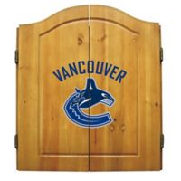 NHL Vancouver Canucks Dart Cabinet Set