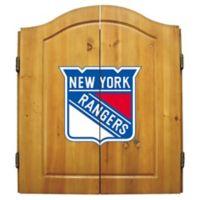 NHL New York Rangers Dart Cabinet Set