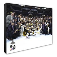 2017 NHL Pittsburgh Penguins Celebration 16-Inch x 20-Inch Canvas Wall Art