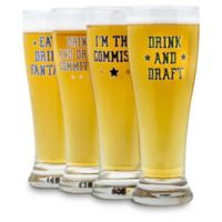 Matthew Berry Beer Glasses (Set of 4)