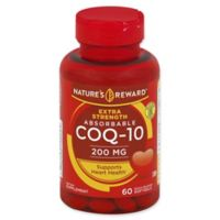 Nature's Reward 60-Count 200 mcg Extra Strength Absorbable CoQ-10 Quick Release Softgels