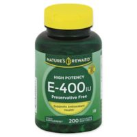 Nature's Reward 200-Count High Potency Vitamin E-400 Quick Release Softgels