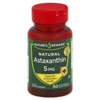 Nature's Reward 50-Count 5 mg Natural Astaxanthin Quick Release Softgels