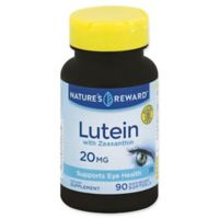 Nature's Reward 90-Count 20 mg Lutein with Zeaxanthin Quick Release Softgels
