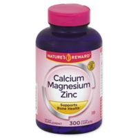 Nature's Reward 300-Count Calcium Magnesium Zinc Coated Caplets