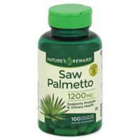 Nature's Reward 100-Count 1200 mg Saw Palmetto Quick Release Capsules