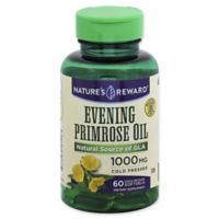 Nature's Reward 60-Count 1000 mg Evening Primrose Oil Quick Release Softgels