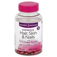 Nature's Reward 180-Count Gorgeous Hair, Skin & Nails Quick Release Softgels