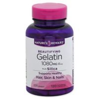 Nature's Reward 120-Count 1080 mg Beautifying Gelatin Plus Silica Quick Release Capsules