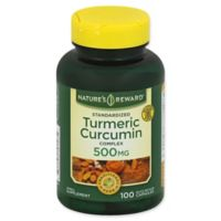 Nature's Reward 100-Count 500 mg Standardized Turmeric Curcumin Complex Quick Release Capsules