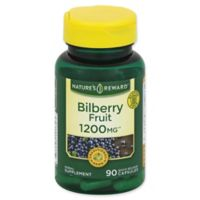 Nature's Reward 90-Count 1200 mg Bilberry Fruit Quick Release Capsules