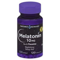 Nature's Reward™ 120-Count 10 mg Melatonin Plus L-Theanine Tablets