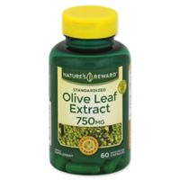 Nature's Reward 60-Count 750 mg Standardized Olive Leaf Extract Quick Release Capsules