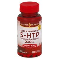 Nature's Reward 60-Count 200 mg Extra Strength 5-HTP Quick Release Capsules