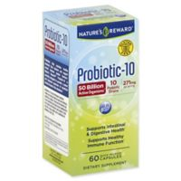 Nature's Reward 60-Count 271 mg Probiotic-10 Quick Release Capsules