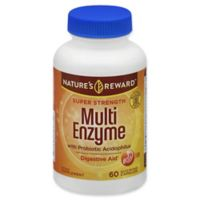 Nature's Reward™ 60-Count Super Strength Multi Enzyme with Probiotic Quick Release Capsules