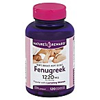 Nature's Reward 120-Count 1220 mg Fenugreek Quick Release Capsules