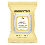 babo Botanicals® 30-Count 3-in-1 Sensitive Baby Face, Hand and Body Wipes in Oatmilk & Calendula