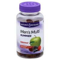 Nature's Reward™ 120-Count Men's Multivitamin Gummies in Natural Mixed Fruit Flavor