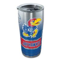 Tervis® University of Kansas Knockout 20 oz. Stainless Steel Tumbler with Lid