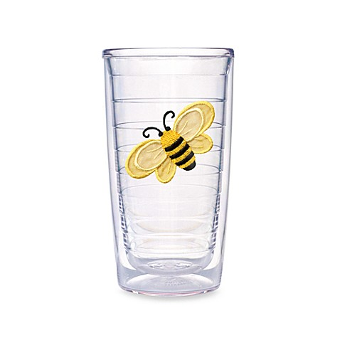 Tervis 174 Bumble Bee 16 Ounce Tumbler Set Of 4 Bed Bath